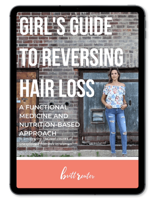 girl's guide to reversing hair loss